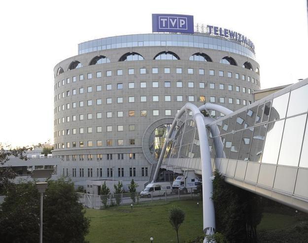 Warszawska centrala TVP. Fot. Witold Rozbicki /Reporter