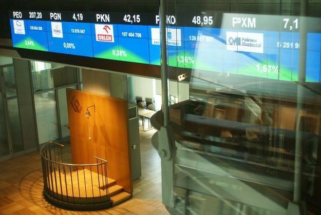 Warszawska giełda przoduje pod względem ilości debiutów, fot. Marianna Osko /Agencja SE/East News
