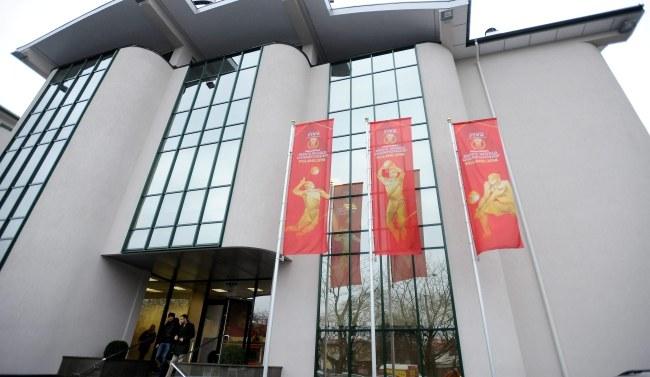 Warszawska siedziba PZPS, gdzie odbywało się posiedzenie prezydium zarządu Polskiego Związku Piłki Siatkowej /Bartłomiej Zborowski /PAP