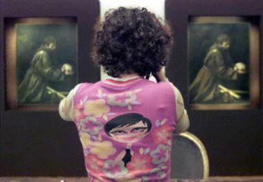 Warszawska wystawa wzbudza ogromne zainteresowanie /AFP