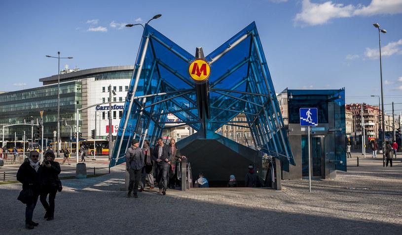 Warszawskie metro; zdj. ilustracyjne /Agencja Wschód /Agencja FORUM