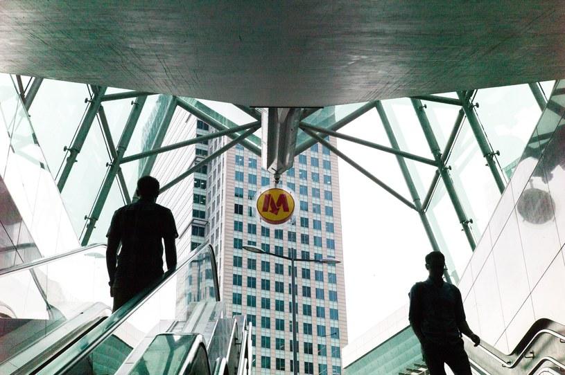 Warszawskie metro (zdjęcie ilustracyjne) /Andrzej Iwańczuk /Reporter