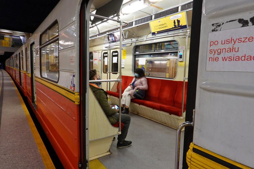 Warszawskie metro /Wojtek Laski /East News