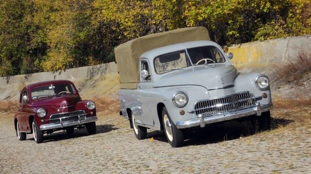 Warszawy na 55-letnim torze próbnym FSO. Taki obrazek to już dziś całkowicie nierealna historia – tor został sprzedany. /Motor