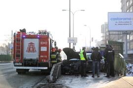 Warszawy: Samochód wjechał w pieszych