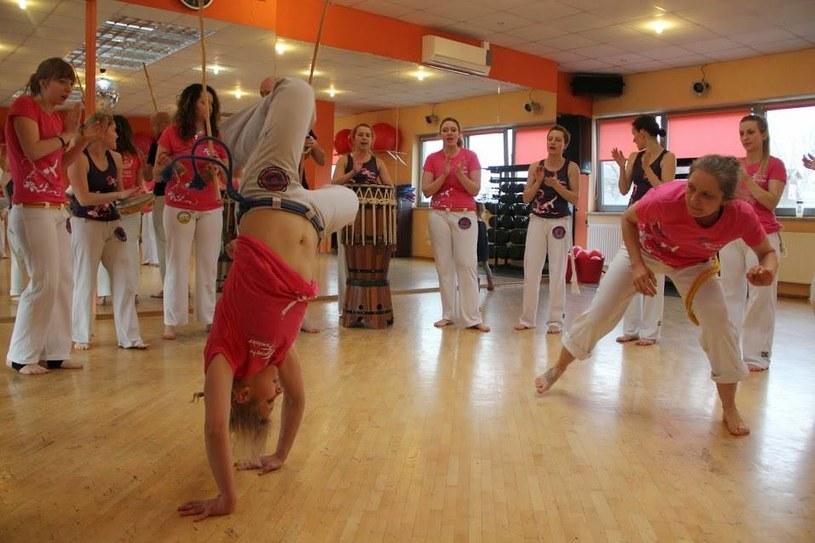 Warsztaty capoeira z okazji Dnia Kobiet /materiały prasowe