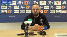 Warta Poznań. Trener Piotr Tworek po meczu z Górnikiem Zabrze. Wideo