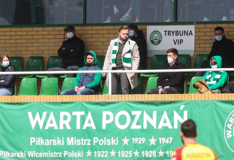 Warta Poznań w Grodzisku Wlkp / Adam Jastrzebowski /Newspix