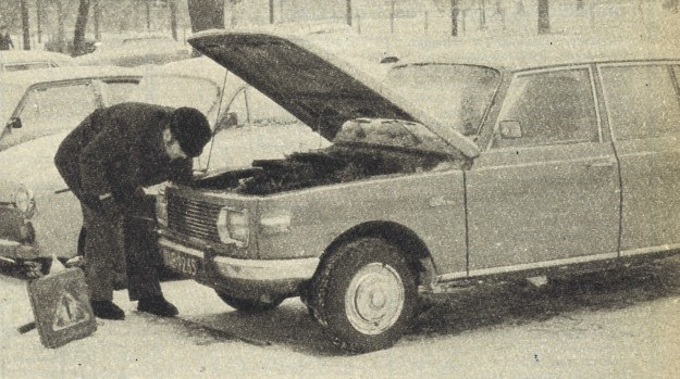 Wartburg 353 W /Motor