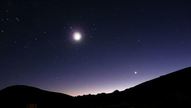 Warto spojrzeć w niebo w 2014 roku (zdjęcie ilustracyjne) /123RF/PICSEL