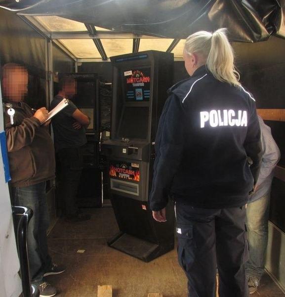 Wartość automatów do gier hazardowych wynosi nawet 1 500 000 złotych /Policja Opolska /Materiały prasowe