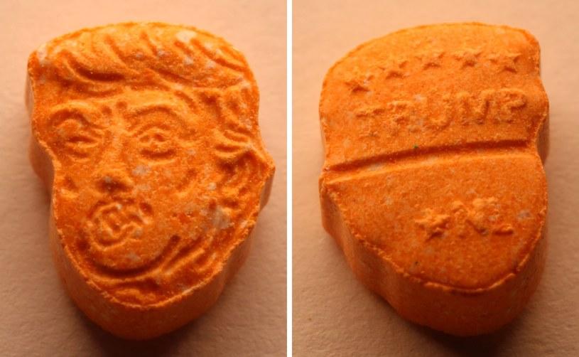 Wartość przejętych narkotyków z podobizną Trumpa wynosi ok. 39 tys. euro /PAP