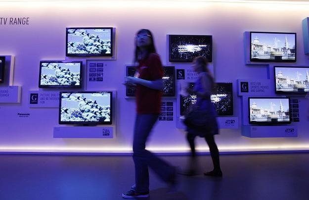 Wartość rynku RTV wzrośnie w 2012 r. o 8,8 procent /AFP