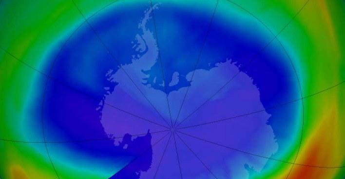 Wartstwa ozonowa /NASA
