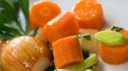 Warzywa w zalewie pomarańczowej