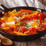 Warzywa z jajkami