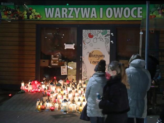 Warzywniak, w którym zaatakowany został 67-latek / Tomasz Gzell    /PAP