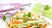 """Warzywny makaron - spaghetti w wersji """"light"""""""