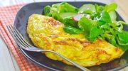 Warzywny omlet z jogurtem