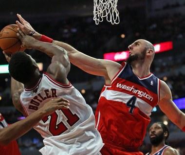 Washington Wizards wygrali na wyjeździe z Chicago Bulls