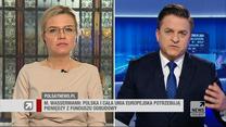"""Wassermann w """"Gościu Wydarzeń"""": Jestem przekonana, że nasza koalicja będzie funkcjonować do 2023 roku"""