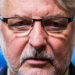 Waszczykowski pisze sms-a do brytyjskich dziennikarzy