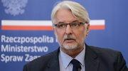 Waszczykowski: Polityka UE okazała się polityką podwójnych standardów