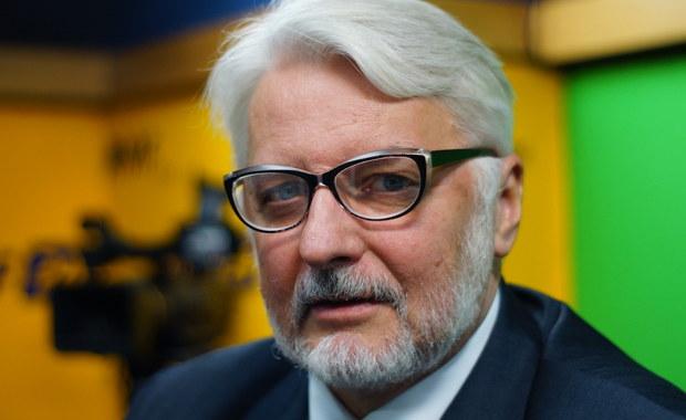 Waszczykowski: Przydałoby się, by sejmowa Komisja Spraw Zagranicznych była w rękach PiS