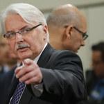 """Waszczykowski w """"Die Welt"""": UE nie powinna dążyć do stania się superpaństwem"""