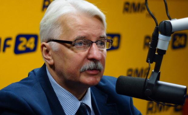 Waszczykowski: Ważnym elementem rozmowy ministra Macierewicza z papieżem była kwestia smoleńska