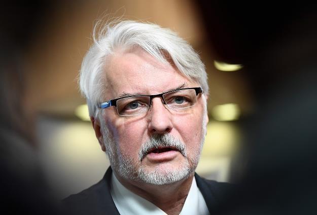 Waszczykowski zapowiedział, że Polska nie bedzie kupwać energii na Białorusi /AFP