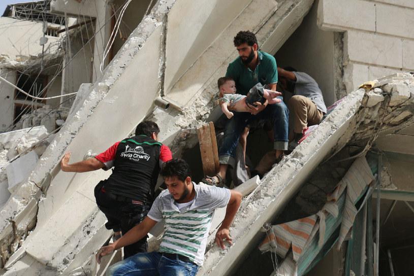 Waszyngton i Moskwa zaprezentowały całkowicie rozbieżne oceny przyczyn załamania się rozejmu w Syrii /AFP