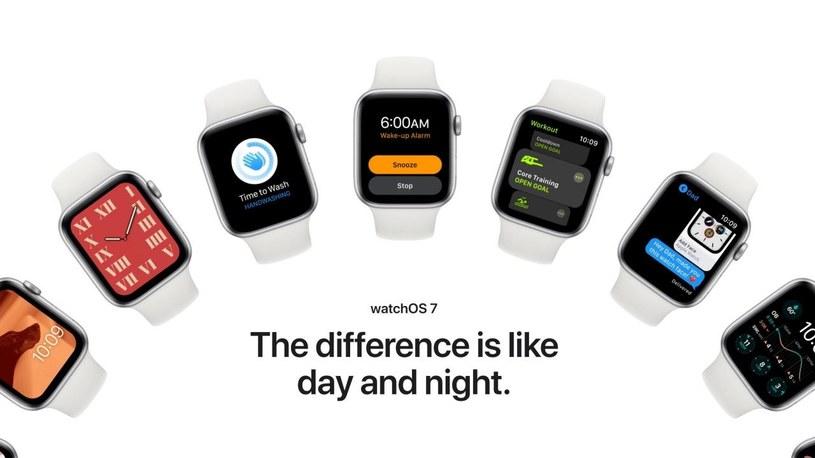 watch OS 7 z problemami na starszym zegarku Apple /materiały prasowe