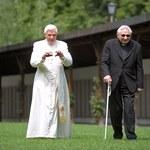 Watykan: Urodziny starszego brata papieża-emeryta