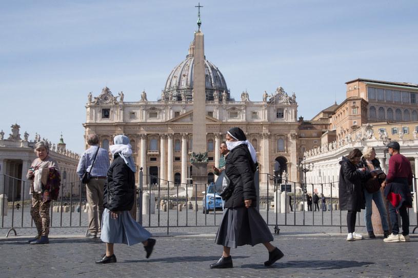 Watykan wprowadza kolejne ograniczenia /Matteo Nardone/Pacific Press/LightRocket /Getty Images