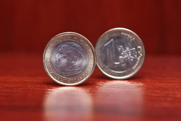 Watykańskie euro /INTERIA.PL