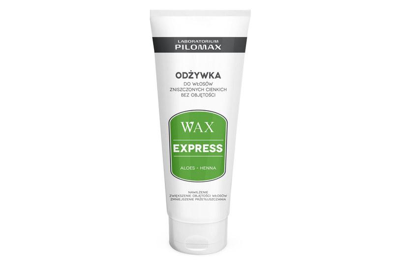 Wax Express: Odżywka do włosów zniszczonych cienkich i bez objętości /materiały prasowe