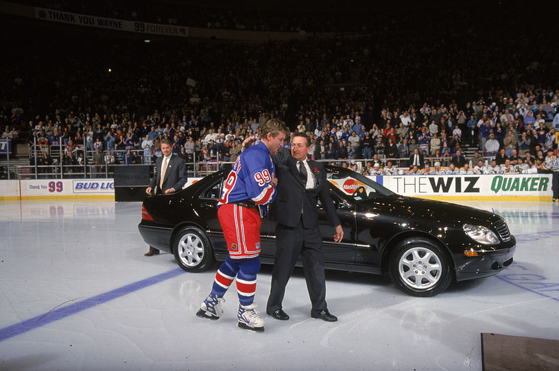 Wayne Gretzky i Walter Gretzky /Getty Images /Getty Images