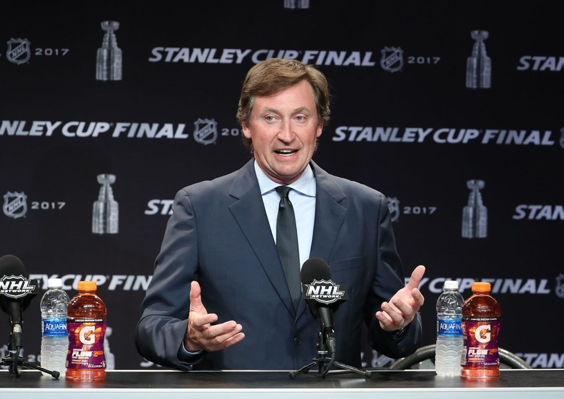 Wayne Gretzky - zdj. archiwalne /AFP