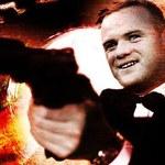Wayne Rooney jako James Bond