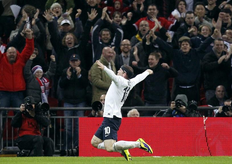 Wayne Rooney, napastnik reprezentacji Anglii /AFP