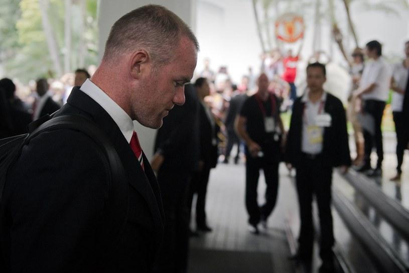 Wayne Rooney nie jest zadowolony ze swojej roli w Man Utd /AFP