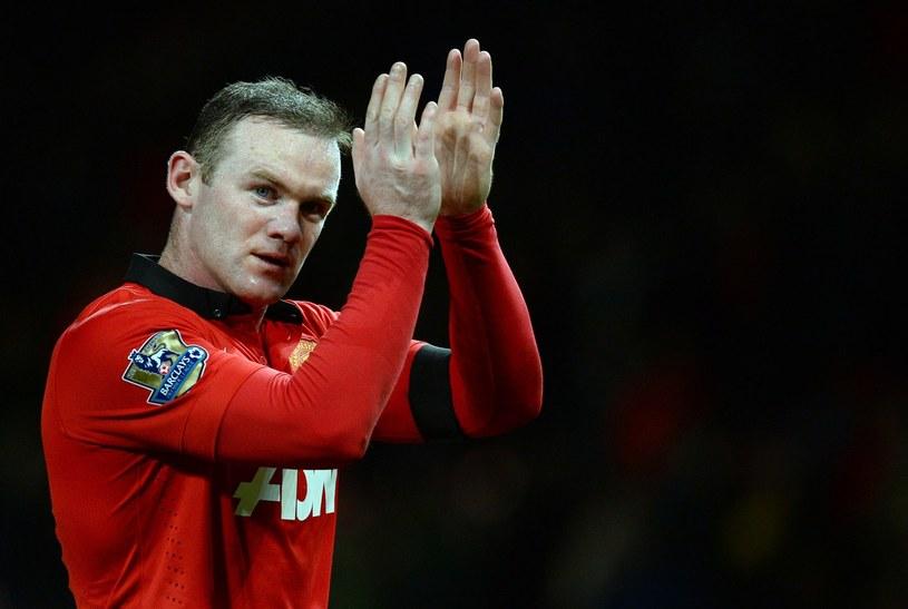 Wayne Rooney - piłkarz Manchesteru United /AFP