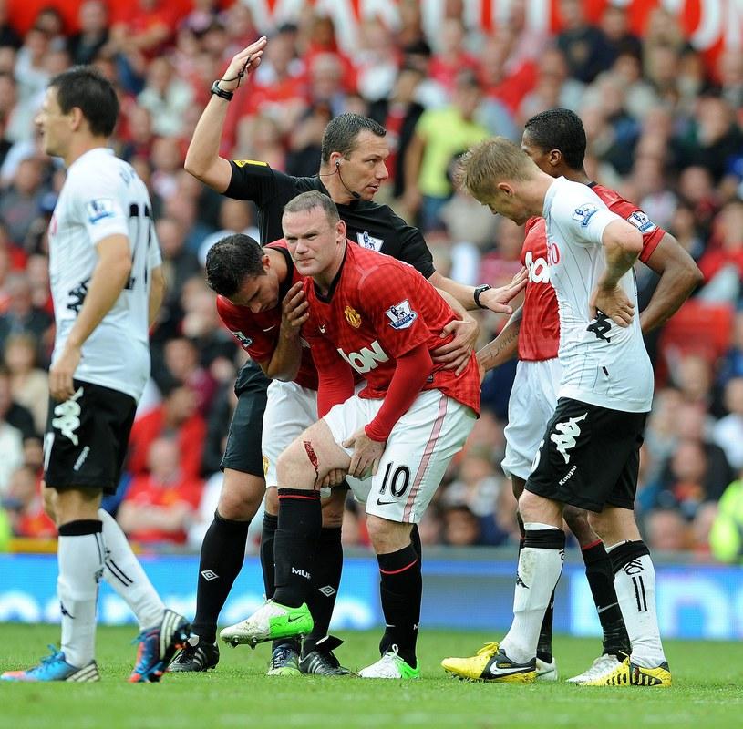 Wayne Rooney wraca do sił po kontuzji /AFP