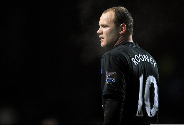 Wayne Rooney z Manchesteru United /AFP
