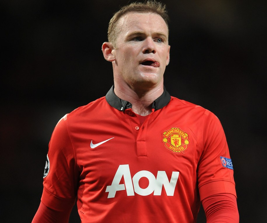 Wayne Rooney /PETER POWELL   /PAP/EPA
