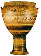 Waza dipylońska, połowa VIII w. p.n.e. /Encyklopedia Internautica
