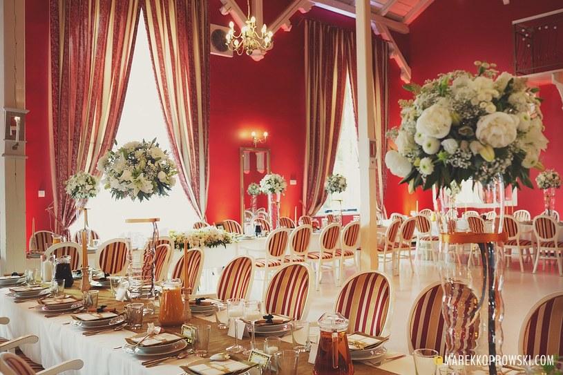 Ważne, by sala weselna wprawiała gości w niepowtarzalny klimat /materiały prasowe