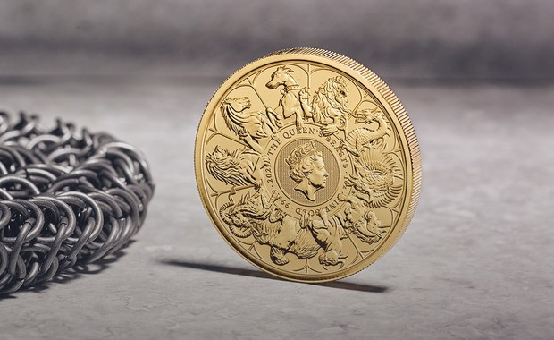 Waży 10 kg i polerowano ją 4 dni. Brytyjska mennica zaprezentowała największa w swojej historii monetę