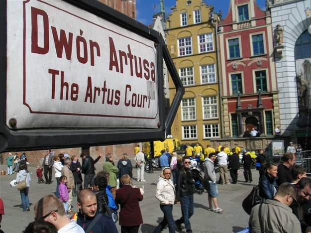 Wbrew pozorom centrum Gdańska jest bezpieczne /Dariusz Proniewicz /RMF FM